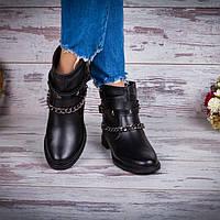 Ботинки женские кожаные демисезонные
