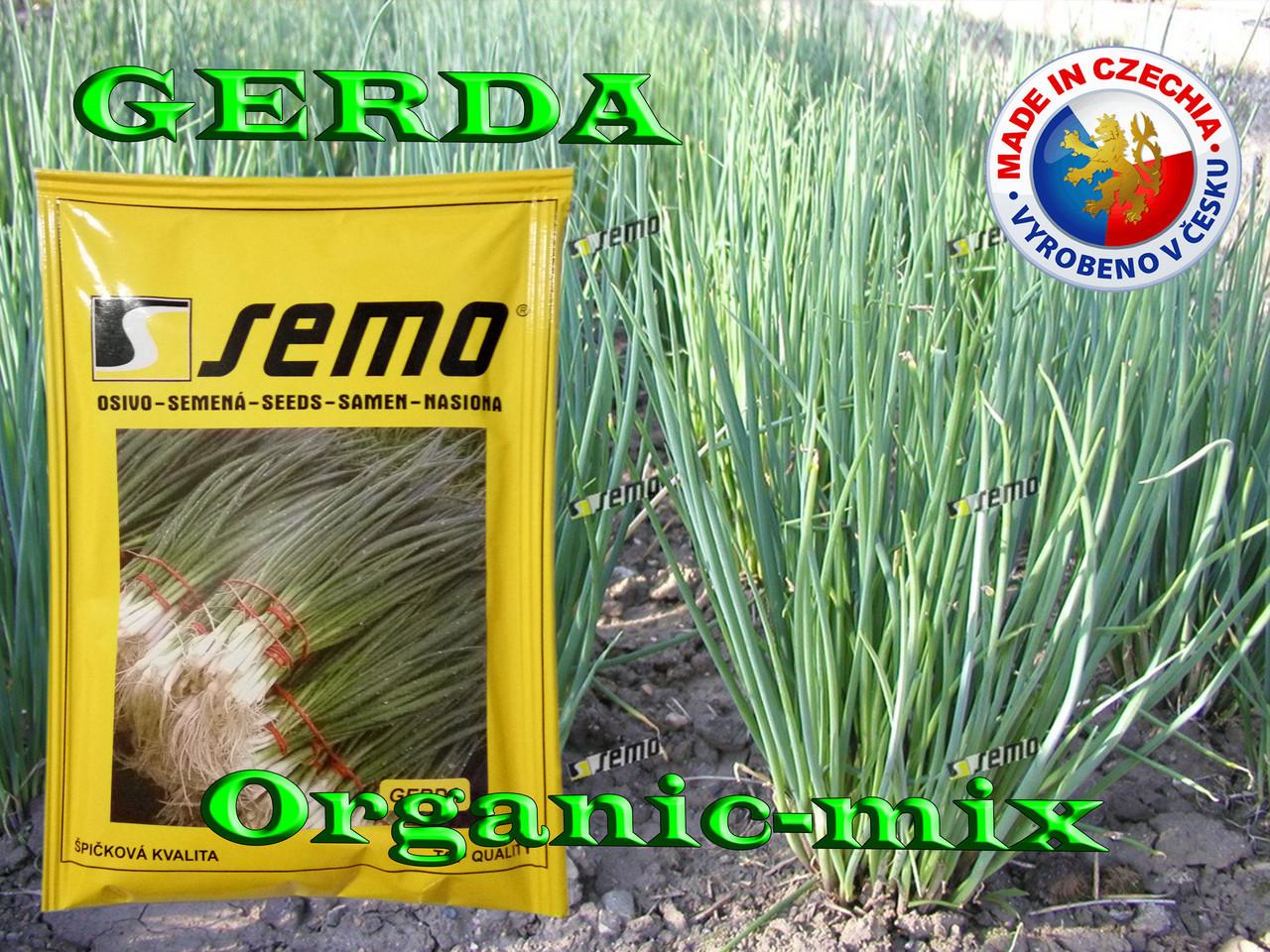 Лук на перо (на зелень) ГЕРДА / GERDA, ТМ SEMO (Чехия), проф. пакет 500 грамм