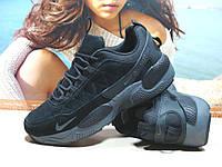 Мужские кроссовки Nike Rivah (реплика)черные 43 р.