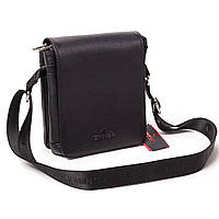 Мужская сумка Eminsa 6022-37-1 кожаная черная
