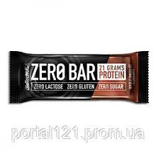Протеиновый Батончик ZERO Bar, Вкус Шоколада, BiotechUSA, 50 гр