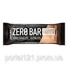 Протеиновый Батончик ZERO Bar, Вкус Капучино, Biotech USA, 50 гр
