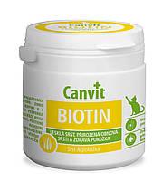 Витамины Canvit Biotin (таблетки для красивой и здоровой шерсти для взрослых котов) 100г