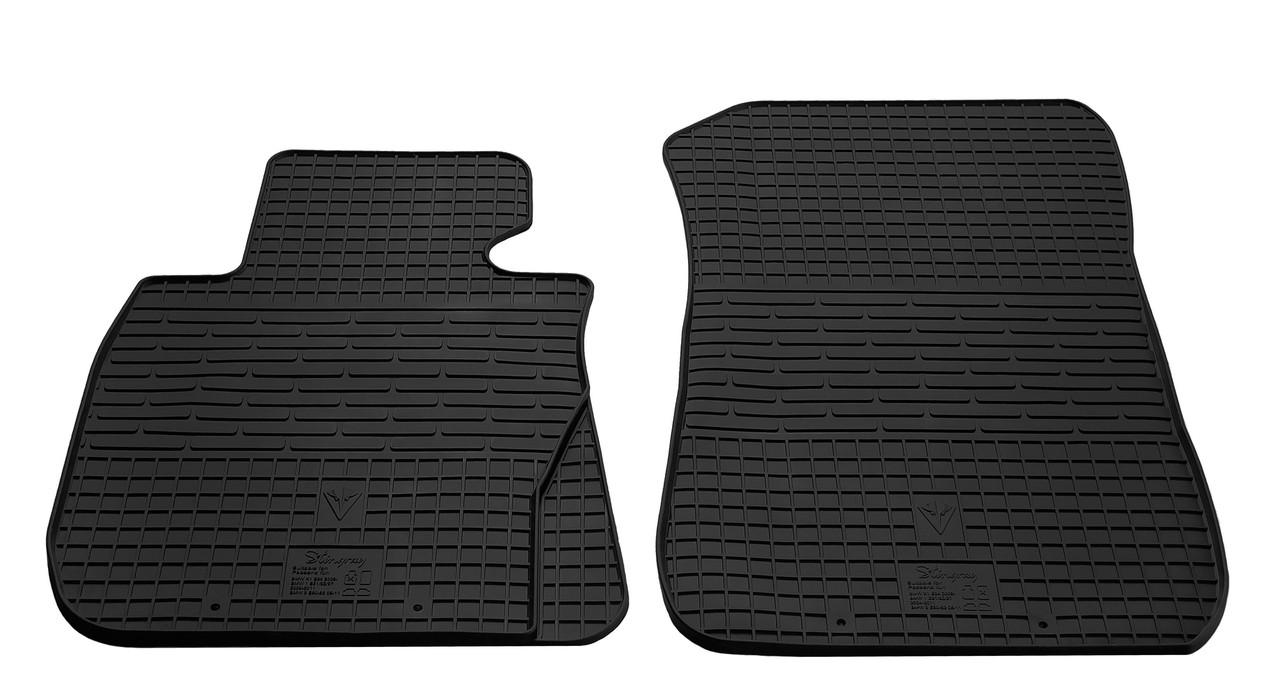 Коврики в салон резиновые передние для BMW 1 E82 2004-2011 Stingray (2шт)