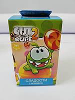 """Кидс бокс - Свитбокс коллекционная фигурка """"Cut the Rope 2""""жевательный  мармелад с натуральным соком, фото 1"""