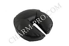 Подушка косметологическая для головы черная