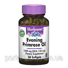 Олія Примули Вечірньої 1300мг, Bluebonnet Nutrition, 30 желатинових капсул