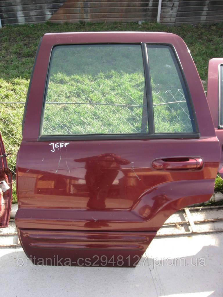 Дверь задняя левая Джип Гранд Чероки бу разные цвета и комплектация Jeep Grand Cherokee