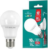 Светодиодная лампа TITANUM LED A60 10W E27 4100K 220V (ТL-A60-10274)