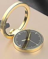 Держатель кольцо, подставка для телефона, цвет - золото, фото 1