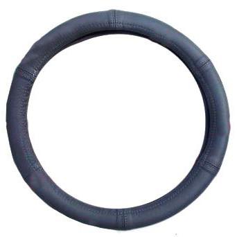 """Чехол на руль Elegant Maxi кожа """"премиум""""  серый размер M 37-38 см  EL 105 148"""
