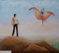 Картина маслом современного художника.
