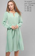 Женское свободное шелковое платье (3196 lp)