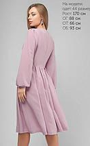 Женское свободное шелковое платье (3196 lp), фото 2