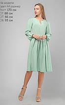 Женское свободное шелковое платье (3196 lp), фото 3