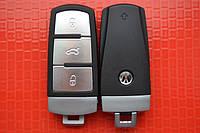 Ключ volkswagen passat b6, b7, cc корпус ключа без вставки хорошего качества