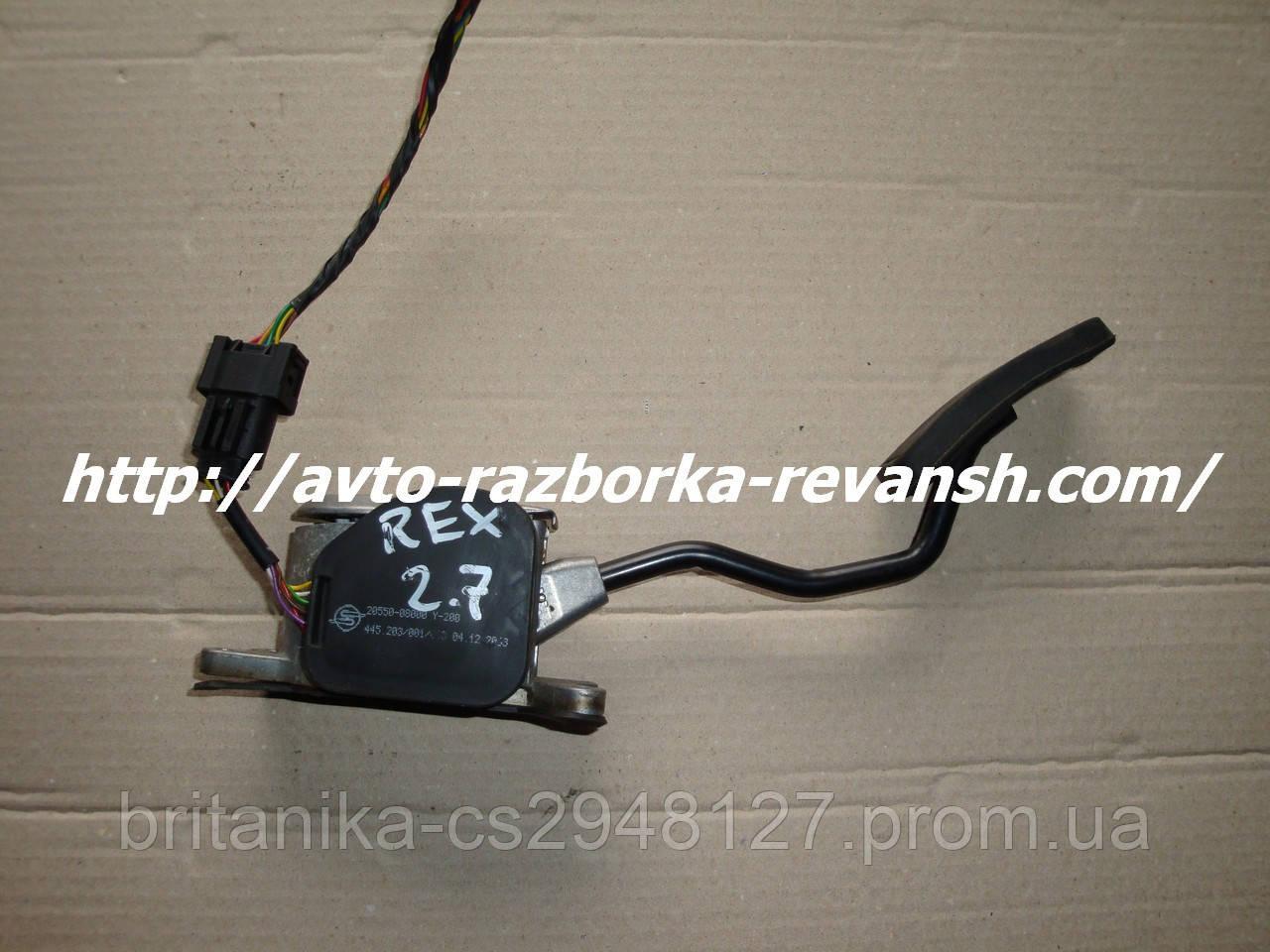 Педаль газа электронная SsangYoung Rexton 2.7xdi 6889993833/2055008000 бу