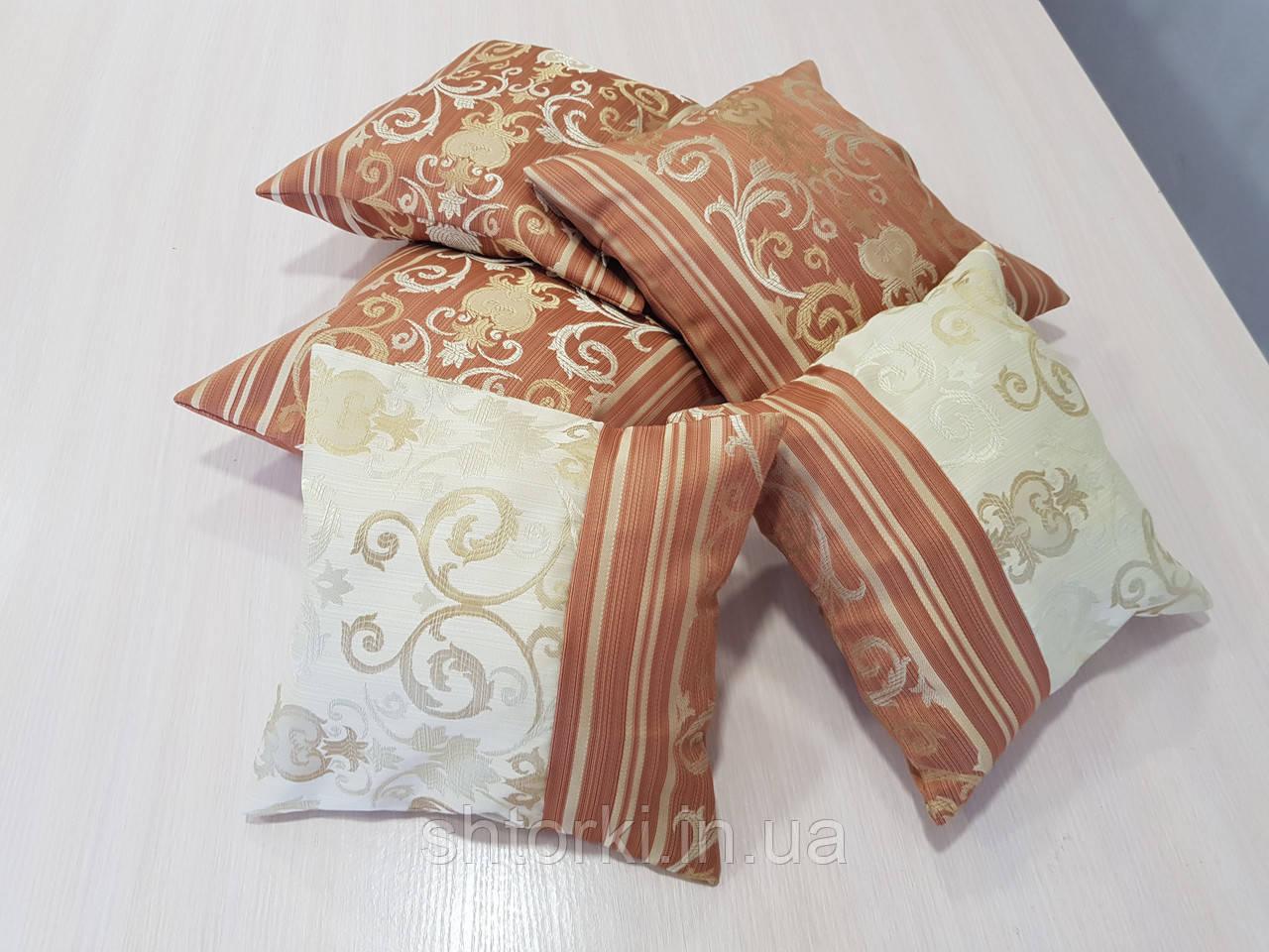 Комплект подушек NANCY комбинированные,5шт