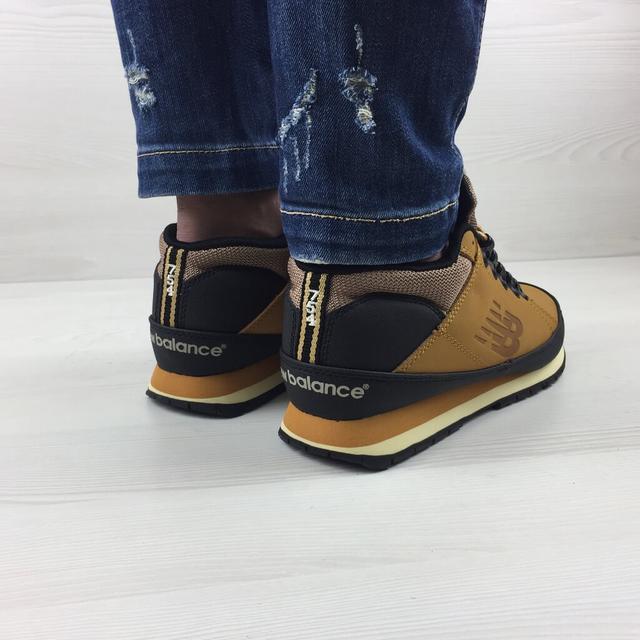 Зимние кроссовки New Balance 754 Yellow фото