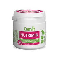 Canvit Nutrimin (балансирование и дополнение в рацион витаминов  и минералов для котов в порошке) 150г