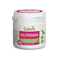 Витамины Canvit Nutrimin (балансирование и дополнение в рацион витаминов и минералов для котов в порошке) 150г