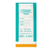 Крафт-пакеты для паровой, воздушной стерилизации, прозрачный 100х200 мм (100 шт)