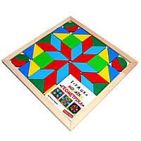 "Мозаїка ""Геометріка"" 4 фігури, фото 1"