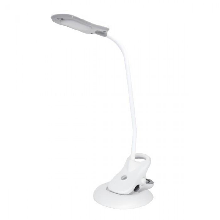 Лампа Настольная LED EZEL 5 W Белая (+прищепка)
