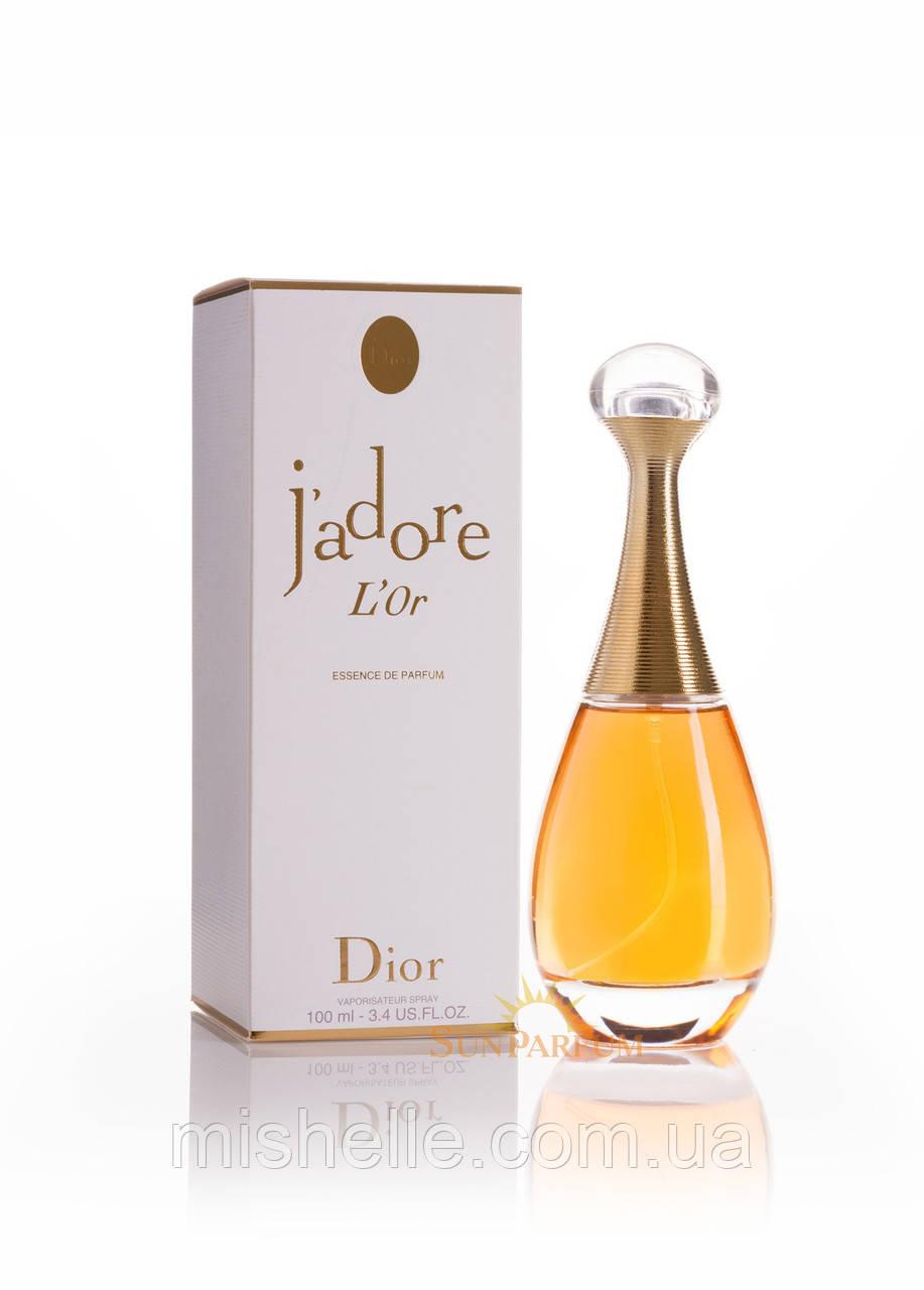 Парфюм для женщин Christian Dior Jadore L'Or (Кристиан Диор Жадор Льор в подарочной упаковке) реплика
