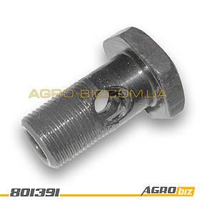 """Болт (штуцер) маслопровода радиатора 40-4607032 МТЗ-80-82 """"АТ"""""""