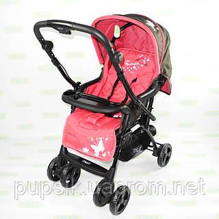 Коляска прогулочная Baby TILLY Fantasia BT-WS-0003 PINK с перекидной ручкой