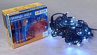 Светодиодная гирлянда DELUX Icicle 18 flash 2 х 0,7м 75LED Белый/Черный, фото 1