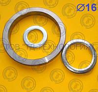 Шайбы для пальцев Ф16 ГОСТ 9649-78, DIN1440