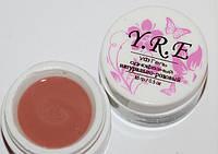 Гель YRE. 15g натурально-розовый