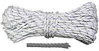 Шнур полипропиленовый плетёный d10мм 20м