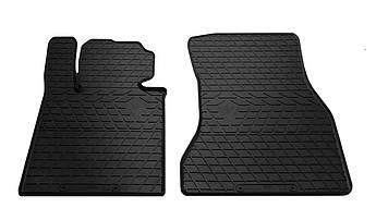 Коврики в салон резиновые передние для BMW 5 G30 2017- Stingray (2шт)