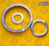Шайбы для пальцев Ф20 ГОСТ 9649-78, DIN1440, фото 1