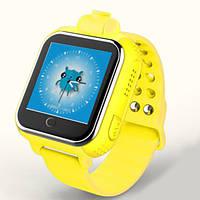 Детские часы-телефон Smart Watch Q200 желтые