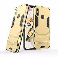 """Чехол для Xiaomi Mi 8 6.21"""" Hybrid Armored Case золотой"""