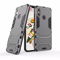"Чехол для Xiaomi Mi 8 6.21"" Hybrid Armored Case темно-серый"