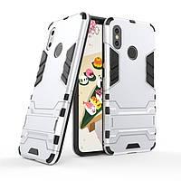 "Чехол для Xiaomi Mi 8 6.21"" Hybrid Armored Case светло-серый"