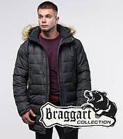 Куртка молодежная зимняя Braggart Youth - 25190P серая