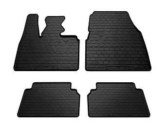 Коврики в салон резиновые для BMW i3 2013- Stingray (к-кт 4шт)