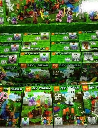 """Конструктор """"Minecraft 8 в 1"""" 40 деталей"""