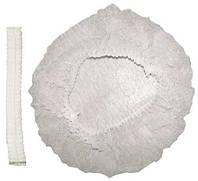 Шапочка гармошка одноразовая (косметологическая)100шт