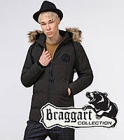 Куртка зимняя молодежная Braggart Youth - 25550C кофе