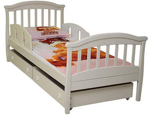 Ліжко (кроватка) підліткове 1900х800 патина дуб молочний Верес