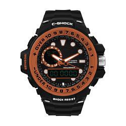 Часы наручные C-SHOCK GWN-1000GB Black-Orange, BOX