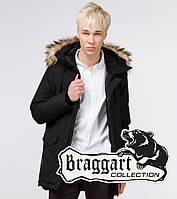 Braggart Youth | Парка зимняя молодежная 25750 черная