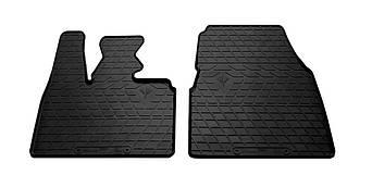 Коврики в салон резиновые передние для BMW i3 2013- Stingray (2шт)
